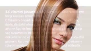 Saç Sağlığı İçin Vitaminler