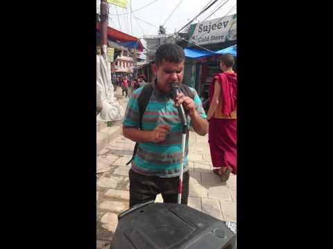 Hem Nepal and his voice