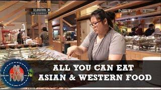 Wajib Coba! All You Can Eat Asian dan Western Food yang Lengkap