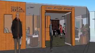Download Urban Stylist Studio, Salon Western Health Hospital, 3D visualisation concept 3Gp Mp4