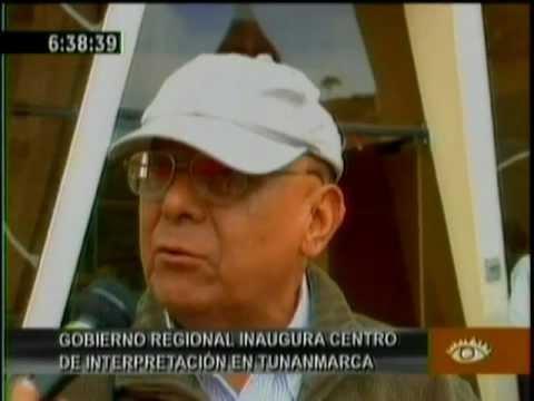 En Tunanmarca Gobierno Regional Inauguró Centro de Interpretación Waldemar Espinoza Soriano