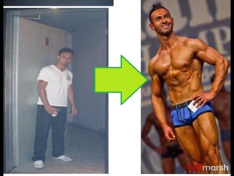 2 1/2 Year Body Transformation of Fitness Model, Altug Kop - Motivation and Inspiration