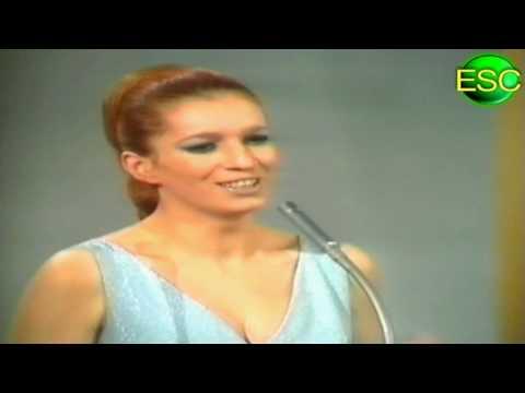 ESC 1969 06 - Italy - Iva Zanicchi - Due Grosse Lacrime Bianche