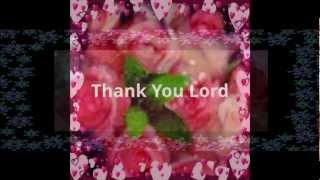 """Flowers For You, Lord"" I Just Want To Thank You Lord by Perry Sisters"
