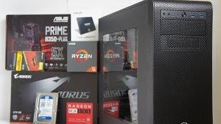 AMD Ryzen 1500X RX 580 Pc Build