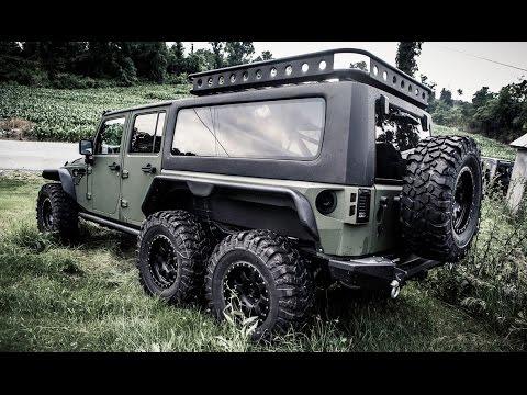 jeep wrangler 6x6? conheça o g. patton tomahawk