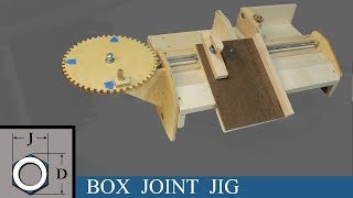 Box Joint Jig for Miter Saw!
