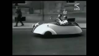 """Mobilita' sostenibile: La prima auto elettrica italiana, """"vetturetta ad accumulatori"""""""