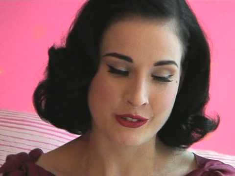 Dita Von Teese Interview Video
