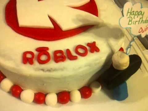 Roblox Cake For My Cousin Youtube