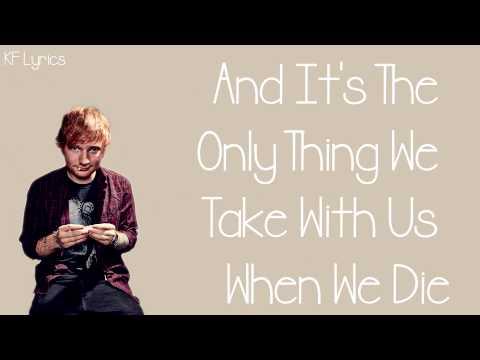 Ed Sheeran - Photograph Song  Lyrics On Screen MP3