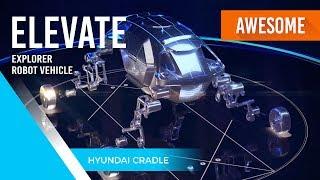 AWESOME Hyundai Cradle Walking Car At CES 2019