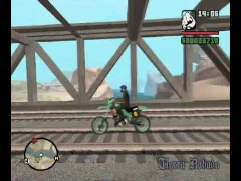 GTA SA STARMAN MOD - Streets of San Francisco