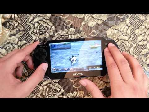 Playable : FF14 Remote Desktop Using PS Vita