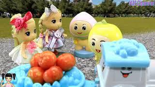 Thơ Nguyễn - Đồ chơi đoàn tàu thu hoạch nông trại