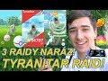 Download Pokemon GO   TYRANITAR RAID! RAIDY JEDOU!! 3X RAID NARÁZ   Jakub Destro in Mp3, Mp4 and 3GP