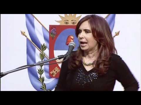 04 de JUN. 142º aniversario fallecimiento del caudillo Felipe Varela. Cristina Férnadez