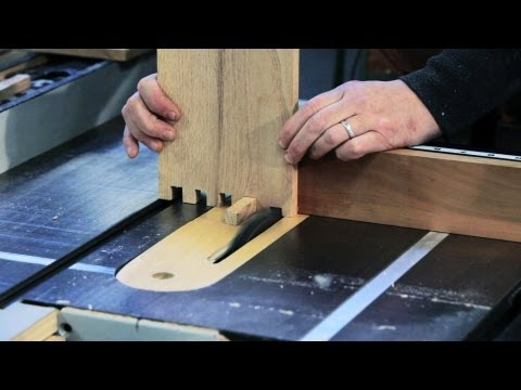 How to Make a Box Joint   Woodworking
