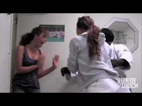 Gracie Jiu-Jitsu MMA Training Dummy Prank | Eve Torres Gets Pranked Image 1