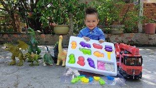 Trò Chơi Nặn Hình Với Cát Động Lực ❤ ChiChi ToysReview TV ❤ Đồ Chơi Trẻ Em