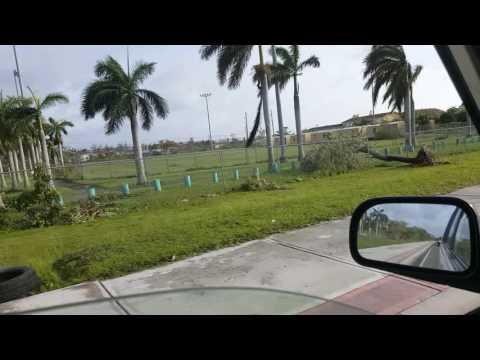 Hurricane Matthew in Nassau, Bahamas