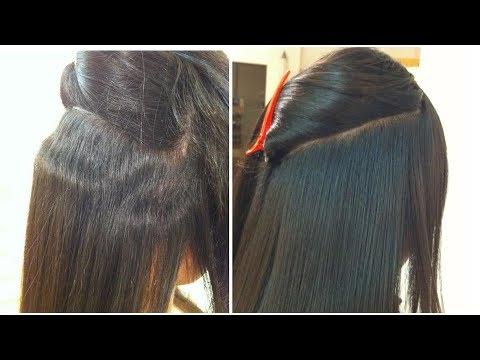 எளிய முறையில் ஹேர் ஸ்டிரைட்டனிங்|How to Straighten your hair step by step in Tamil|TAMIL BEAUTY TIPS