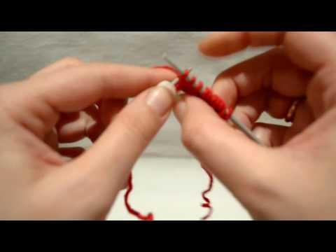 Вязание спицами резинка 1x1 58
