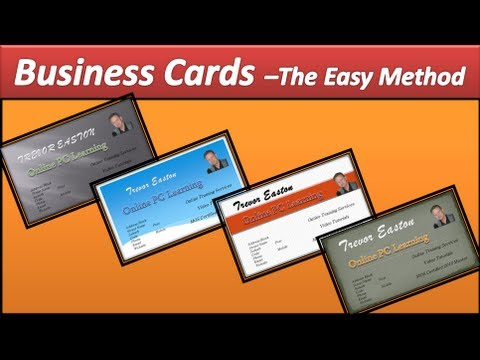 business card make business cards powerpoint 2010