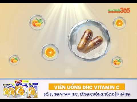Viên uống DHC vitamin C - Sản phẩm bổ sung vitamin C được tin dùng hàng đầu Nhật Bản