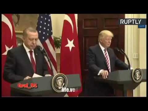 Эрдоган красава поставил на место трампа  так ему надо