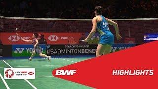 YONEX All England Open 2018 | Badminton WS - QF - Highlights | BWF 2018