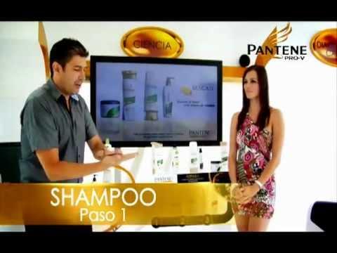 Expertos de la Belleza Pantene: Cómo usar Shampoo y Acondicionador