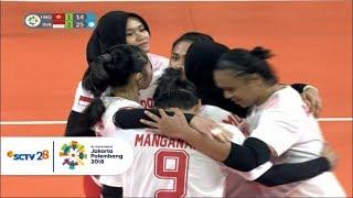 Highlight HKG v INA - Voli Putri Penyisihan: Kemenangan Indonesia atas Vietnam | Asian Games 2018