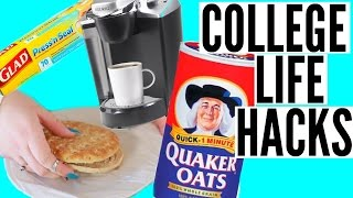Dorm Life Hacks for Lazy College Students!
