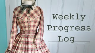 Weekly Progress Log #1 : Sewing & Costumery