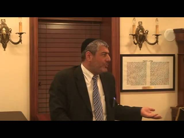 Rabbi Yosef Mizrachi - How We Elevate Ourselves