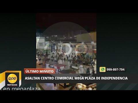 Mega Plaza: delincuentes ingresaron a robar en centro comercial│RPP