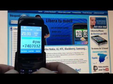 Liberar Nokia C2-02 por código de Movistar. Orange y otra operadora