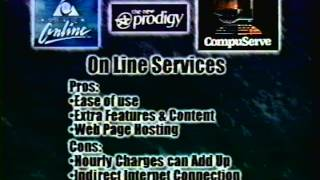 The Internet Getting Online retro tech 1998