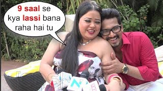 Bharti Singh Funny Interview After Marriage With Husband Harsh Limbachiyaa