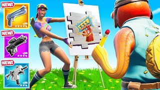 Can YOU *GUESS* The Painting For LOOT in Fortnite