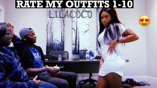 FRIENDS RATE MY OUTFITS 1-10 FT. LILACOCO // GIVEAWAY!!!!!