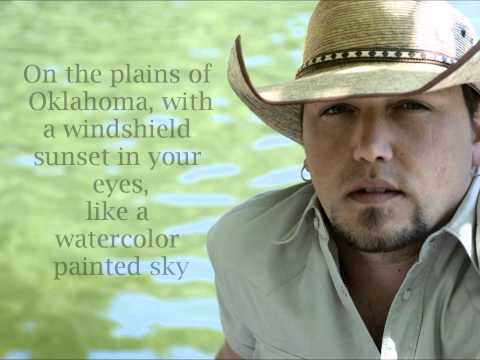 Fly Over States By Jason Aldean - Lyrics video