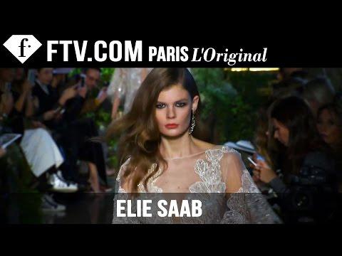 Elie Saab Runway   Paris Couture Fashion Week   Fashiontv video