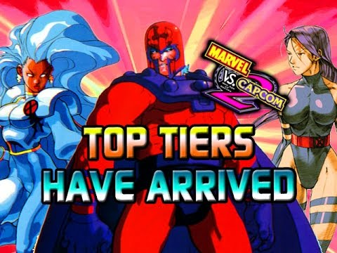 TOP TIERS HAVE ARRIVED - Marvel Vs. Capcom Classics (MVC2)