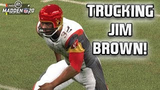 Madden 20 MUT Squads - Jim Brown Puts the Team on His Back!