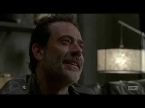 Carl Tells Negan To Jump Out A Window