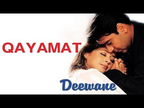 Qayamat - Deewane | Ajay Devgan & Urmila Matondkar | Sukhwinder...
