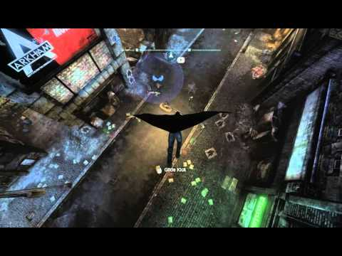 Batman Arkham City Robin Free Roam Gameplay-(New).mp4
