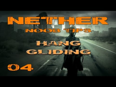 Nether Noob Tip #4 Hang Gliding (How to Fly Using the Glider)